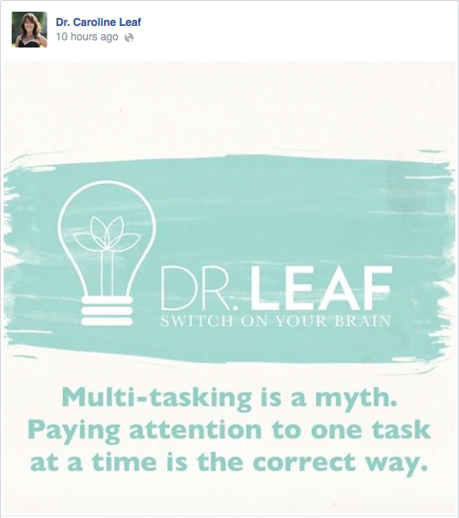 the myth of multitasking pdf
